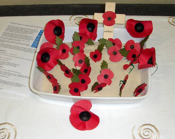 Rememberance display