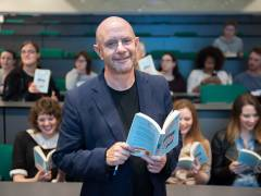About a Boy author Nick Hornby steps into the literary limelight as part of Kingston University's Big Read project