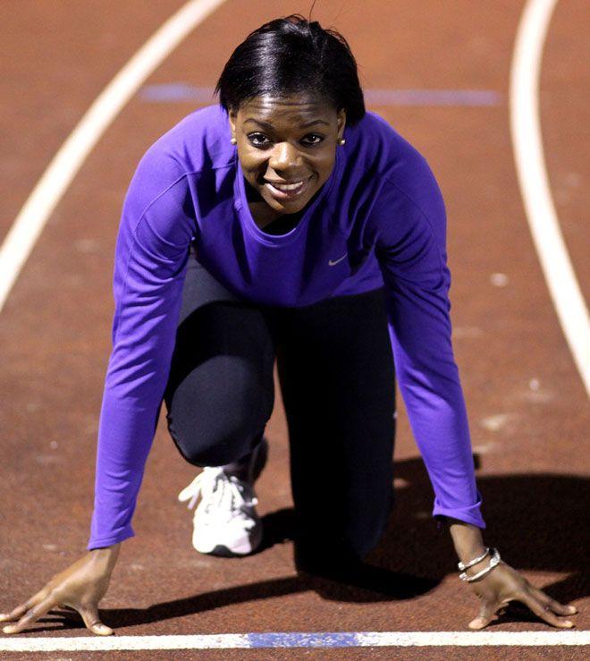 International athlete Asha Philip