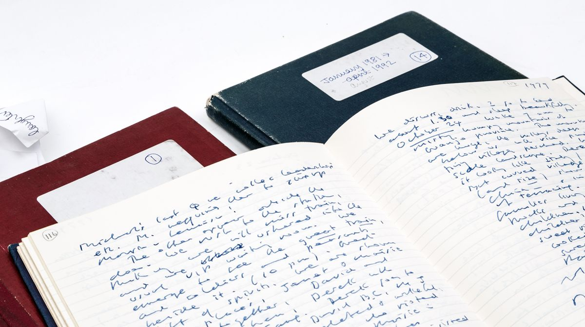 Diaries of a writer – Kingston University's recently acquired Iris Murdoch journals mark new research chapter exploring work of late novelist and philosopher