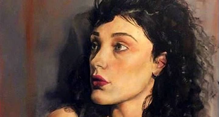 Kingston School of Art student showcases her fine art talent to the nation in Sky television's Portrait Artist of the Year competition