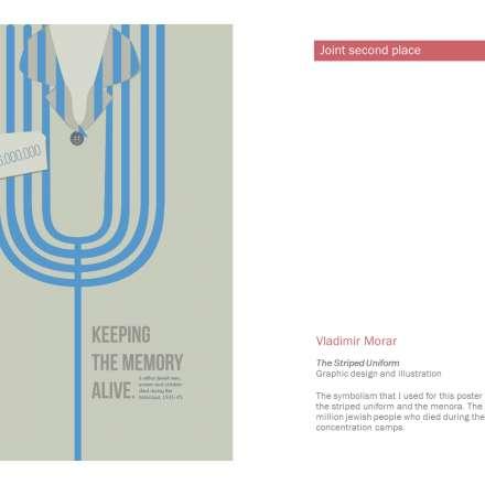 Vladimir Morar, The striped uniform (graphic design and illustration)