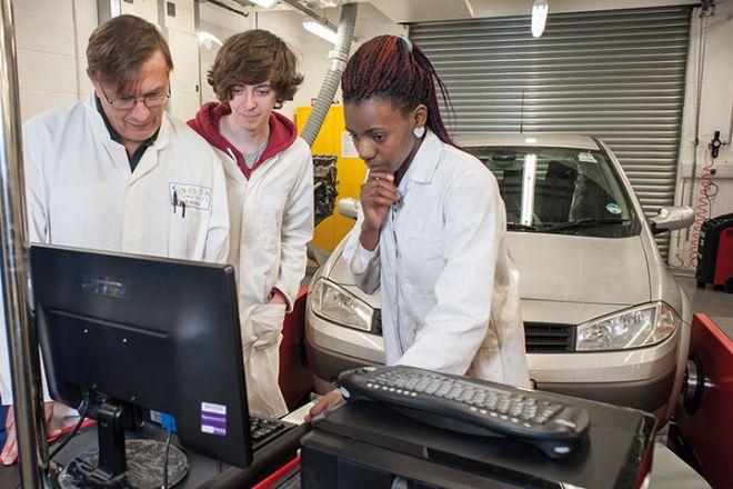 Automotive engineering laboratory