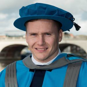 Paralympic champion David Weir hails greater understanding of disability for being lasting legacy of London 2012 Games as he receives Kingston University honorary degree
