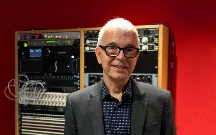 Kingston University's Visconti Studio will be magnet for major recording artists, according to acclaimed record producer Tony Visconti