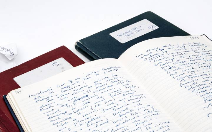 Diaries of a writer – Kingston University's recently acquired Iris Murdoch journals mark new research chapter on the novelist and philosopher