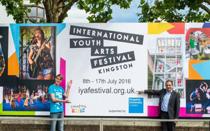 Kingston University students, staff and graduates bring dance and drama talents to borough stage during International Youth Arts Festival