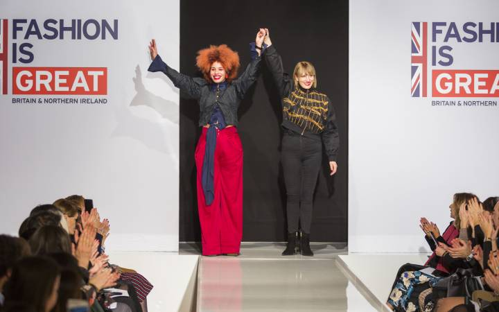 From AltaRoma to London Fashion Week – diversity on the catwalk as Sadie Clayton's latest collection takes the fashion capitals by storm