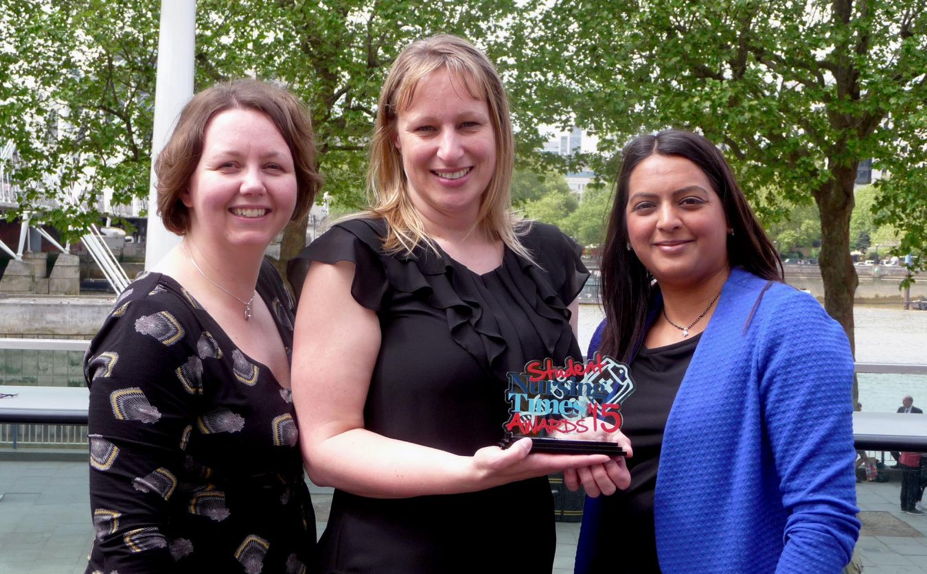 Karen Elliott, Michelle McBride and Neesha Oozageer - Teaching innovations winners