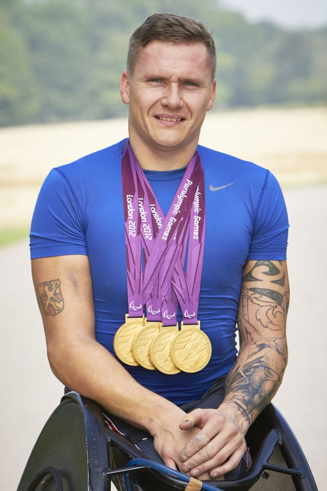 Wheelchair racer David Weir has experienced an unprecedented level of fame after being thrust into the spotlight winning four gold medals during the London 2012 Paralympics. Image: www.johnordphotography.com