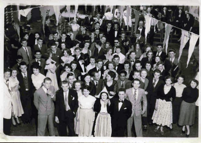 Picture: Kingston Technical College dance, January 1953