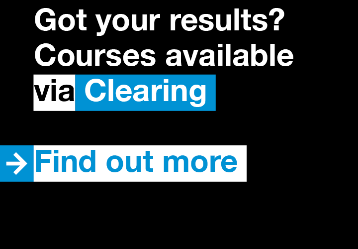 Clearing 2017 via Kingston University