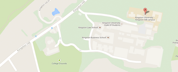 View Kingston Business School and Knights Park on our Google Maps