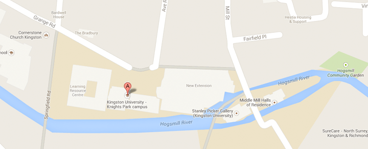 View Knights Park and all Kingston campus location on our Google Maps