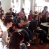 Students at Milan workshop