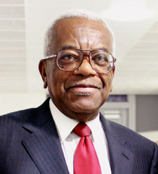 Sir Trevor McDonald inspired the potential journalists of the future at a careers event