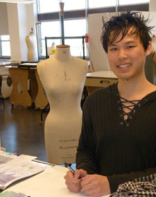 Garfield Li wanted to design a collection that would really appeal to young women, whether disabled or not.