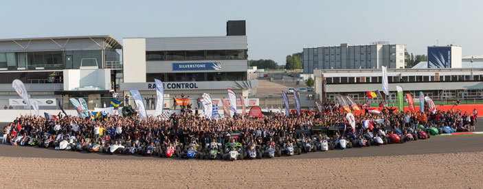 The Formula Student competition at Silverstone featured teams from around the globe. Image courtesy of the Institution of Mechanical Engineers.