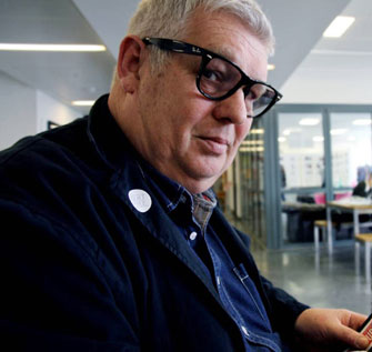 Ian Noble was acting Academic Director for Communication Design at Kingston University.