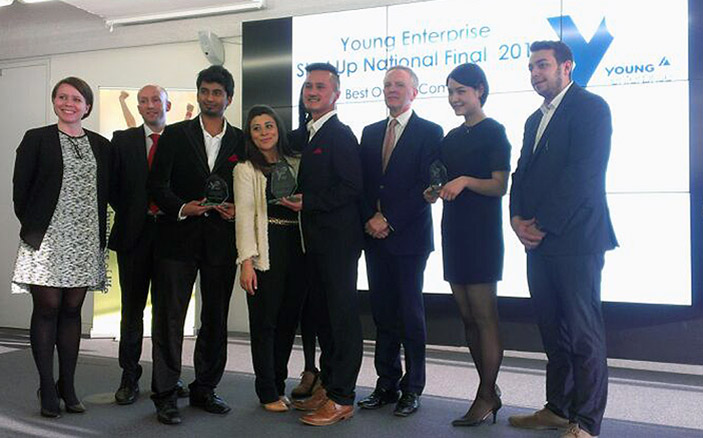 Kingston University Start-up business Le Petit Sac win three awards at the Young enterprise UK finals