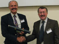 We are also pleased to congratulate Bob Thomas (Geology BSc(Hons), 1973) who received the Coke Medal