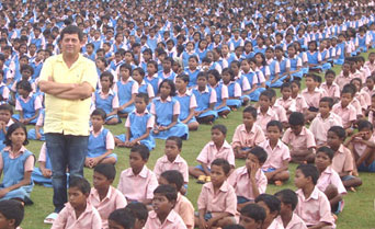 Dr Achyuta Samanta founded the Kalinga Institute of Social Studies which caters for children from 62 tribes and 13 primitive tribal groups in the Indian state of Odisha.