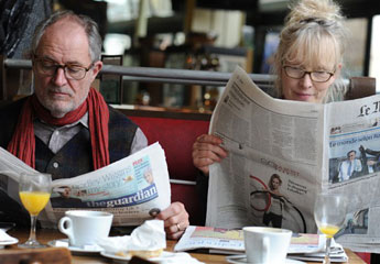 Jim Broadbent and Lindsay Duncan star in Hanif Kureishi's film Le Week-end