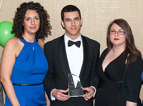 The University's careers and employability team was awarded Best Preparation for Work Strategy at the Association of Graduate Recruiters' Development Awards.