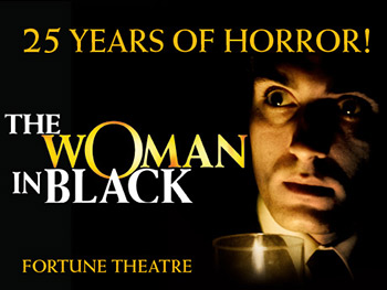Win a pair of tickets to see The Woman in Black at the Fortune Theatre