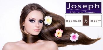 Joseph's Hair & Beauchamp Beauty 80% off promotion for alumni