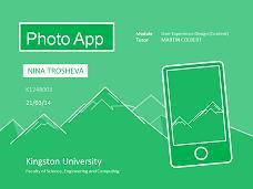 Photo app presentation