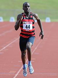 Samuel Adeyemi running