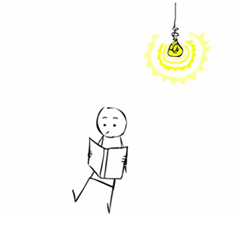 Kingston University graduate Alicja Jasina's award-winning animation The Light Bulb focuses on the process of creating a short film.