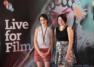 Kingston University BFI interns 2014