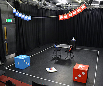 The stage set of IYAF 2014 play GAME