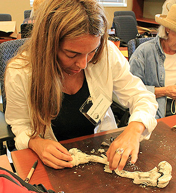 Student Hones Her Knowledge At Forensic Anthropology