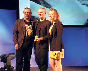Luke Evans wins D&AD Yellow Pencil award 2014