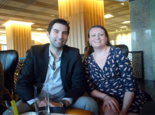 Alumni meet up in Istanbul