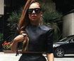 Pop sensation Lady Gaga snapped wearing Kingston University fashion graduate's designs