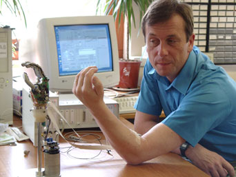 Professor Kevin Warwick became the world's first cyborg - part human and part machine - when a device was implanted into his arm.