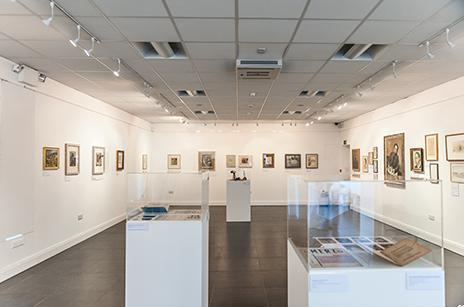 Historically significant retrospective returns WWII works to the Isle of Man