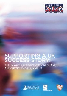 Supporting a UK success story: the impact of university research and sport development