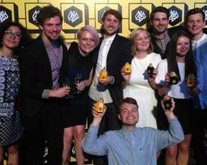 Graphic Design students win D&AD awards 2014