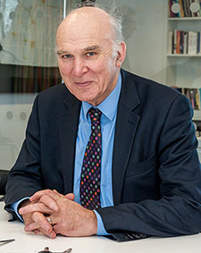 Secretary of State for Business, Innovation and Skills and Twickenham MP Dr Vince Cable said his recent visit to Kingston University had made a huge impression on him.
