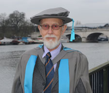 David Lindsley has been made an honorary fellow of Kingston University.
