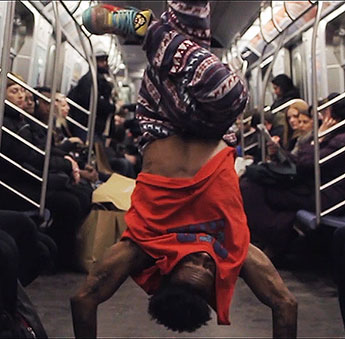 Kingston University student Scott Carthy has documented the story of the New York subway dancers in his film 1050.6(C).