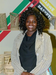 Manager of the Lupane Women's Centre Hildegard Mufukare credits the project with giving members more confidence.