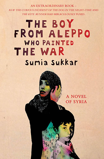 The boy from Aleppo who painted the war, published by Eyewear Publishing, is Sumia Sukkar's first novel.