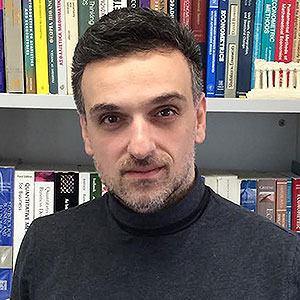 Professor of Small Business and Entrepreneurship at the Small Business Research Centre Professor George Saridakis