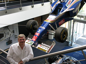 Formula One racing engineer Brian O'Rourke  (Photo courtesy of Williams Grand Prix Engineering Ltd)